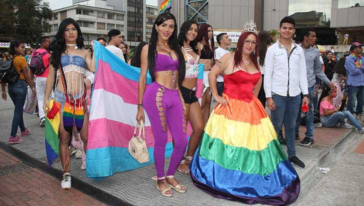 Quindío se unió en pro de la diversidad sexual