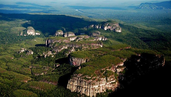 Parque de la Serranía de Chiribiquete, declarado Patrimonio de la Humanidad
