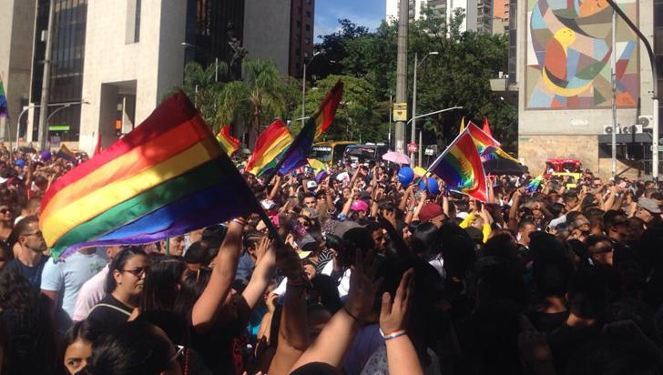 Comunidad Lgtbi en el país marchó y pidió eliminar la discriminación