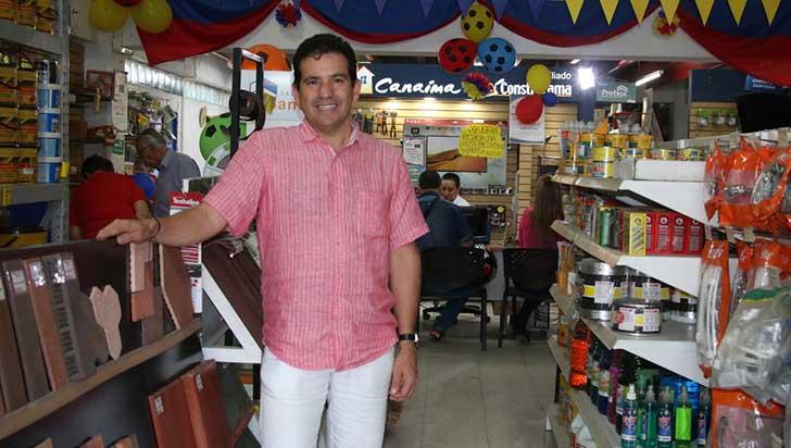 John Jairo Salazar, empresario desde los 17 años