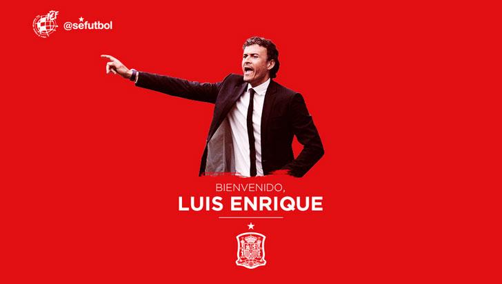Luis Enrique, nuevo director técnico de la selección España