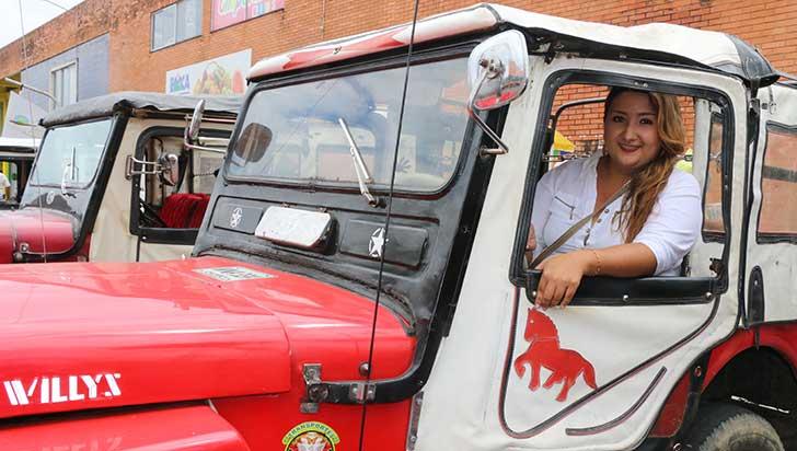 Diana Carolina Hurtado dio cátedra en el pique tradicional con su Willys