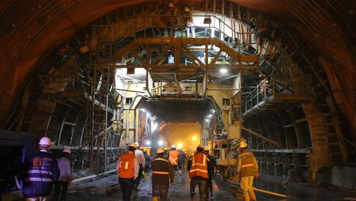 Procurador y Defensor del Pueblo visitarán obras del túnel de la Línea este jueves