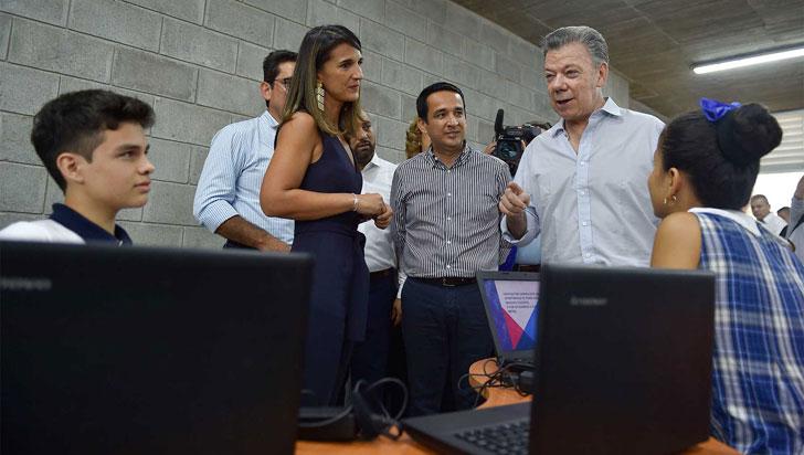 Santos aseguró que la inversión en educación creció un 80% durante su gobierno