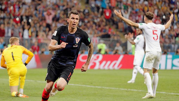 Croacia se clasifica a su primera final en un mundial tras ganar 2-1 a Inglaterra
