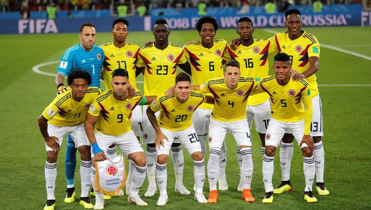 Colombia quedó en la novena casilla del mundial Rusia 2018