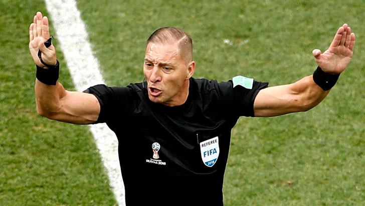 El argentino Néstor Pitana dirigirá la final del mundial Rusia 2018