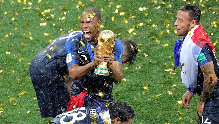 Francia es la nueva campeona del mundo tras derrotar 4-2 a Croacia