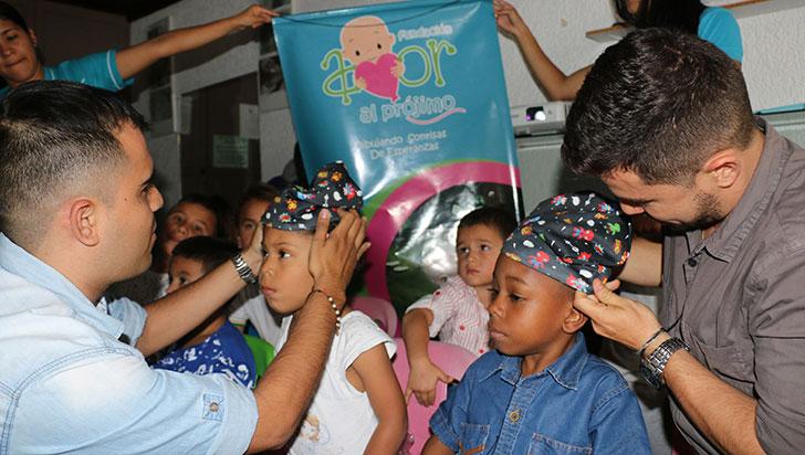 45 niños quindianos son tratados por cáncer