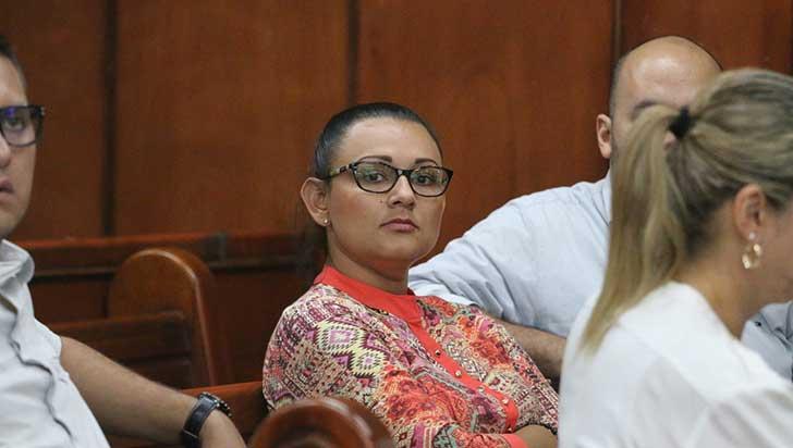 A 4 años y 6 meses fue condenada Aura María Zapata por caso de valorización