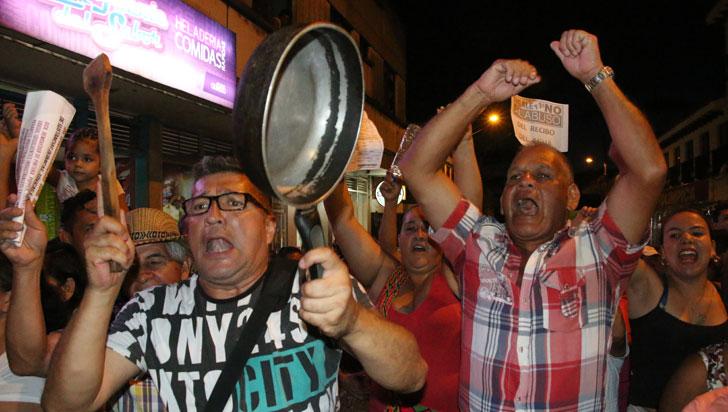 Desobediencia civil, planteamiento en Montenegro por alzas en tarifas de EPQ