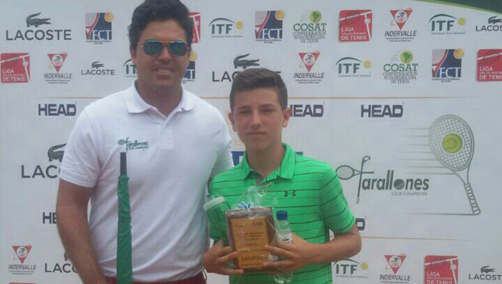Camilo Cano, de la Academia Julio Varón, ganó en el Gira Cosat de Medellín