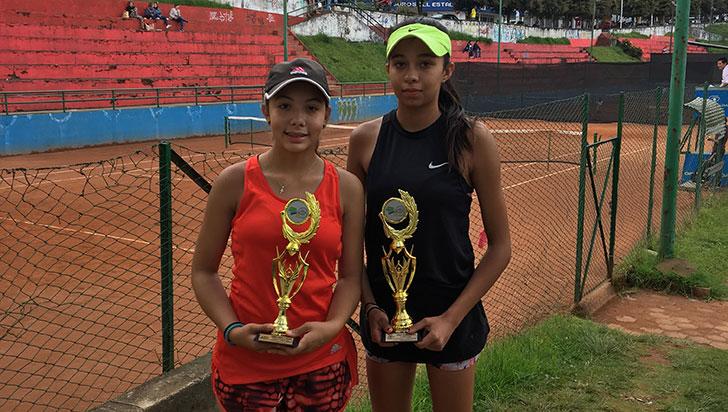 Quindiana, subcampeona en nacional grado 4 de tenis en Manizales