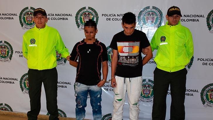 El Negro y el Zarco serían responsables de cinco hurtos a locales de Facilísimo