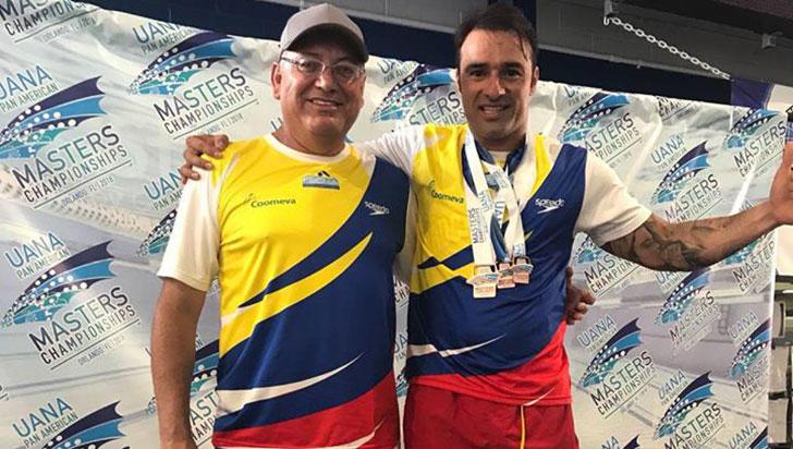 Leonardo Bohórquez se quedó con bronce en Panamericano de natación