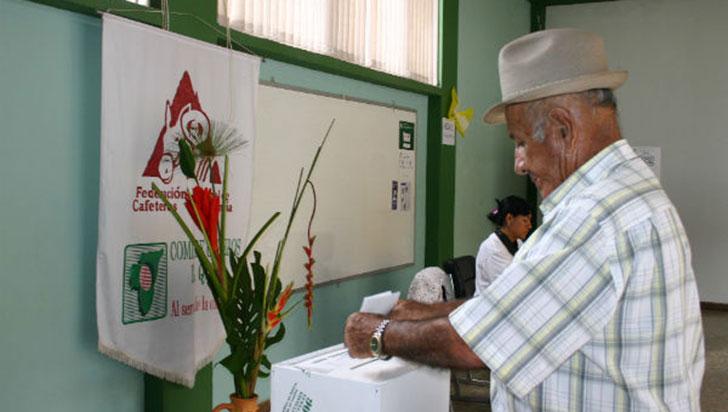 31 listas y 12 planchas fueron inscritas para las elecciones cafeteras del Quindío