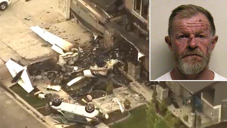 Un hombre en EE.UU. estrelló avioneta contra su casa tras agredir a su mujer