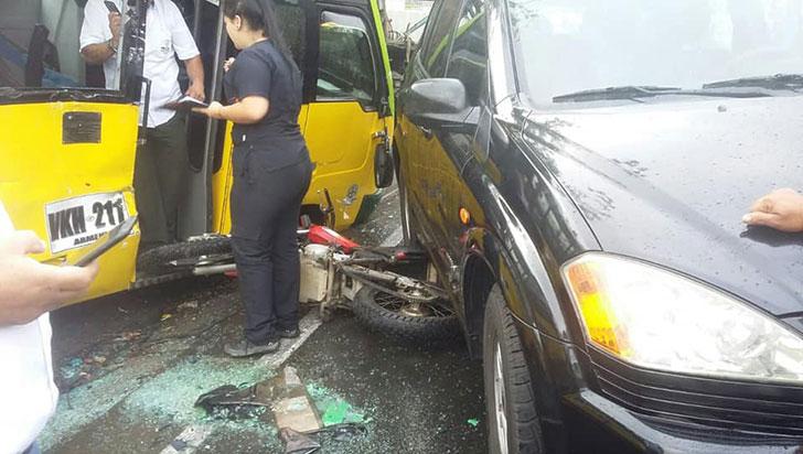 Una falla de frenos habría originado el accidente que dejó 22 personas heridas