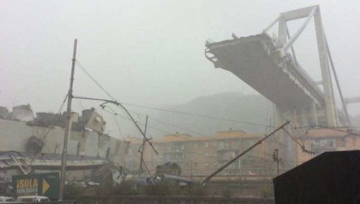 Hay un colombiano entre los 39 muertos por caída de viaducto en Génova, Italia