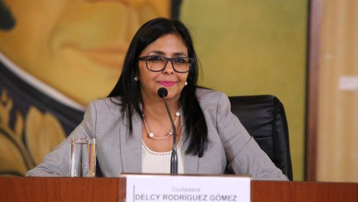 Vicepresidenta venezolana culpó a los ríos colombianos de las inundaciones en su país