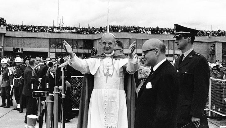 La primera visita de un Papa a Colombia y su recuerdo familiar y noticioso