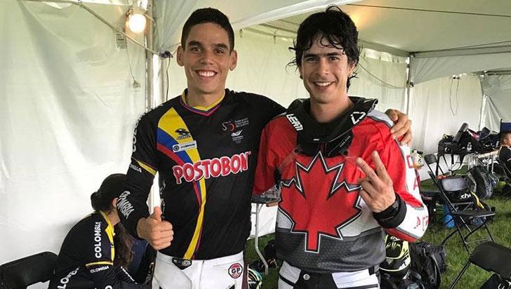 Hermanos Rodríguez Botero ganaron en nacional Milton Canadá de BMX