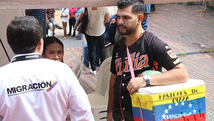 1.171 venezolanos irregulares pueden tramitar el PEP en el Quindío