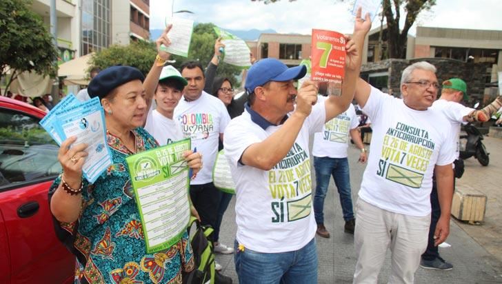 """""""Votar por el ¡Sí! es el acto de amor más grande de los últimos tiempos"""": Promotores"""