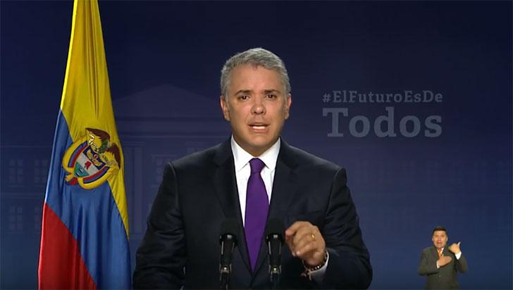 """""""Quedó claro que Colombia no aguanta más corrupción"""": Iván Duque"""
