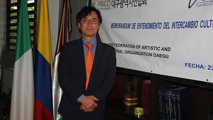 Un país feliz y tranquilo, visión de los coreanos de Colombia