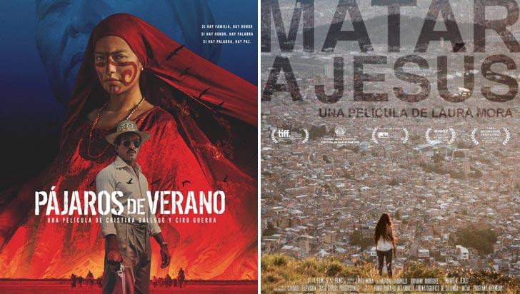 Pájaros de verano y Matar a Jesús, candidatas de Colombia a premios Óscar y Goya
