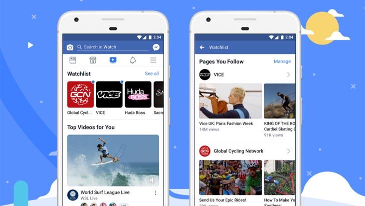 Facebook Watch, la apuesta de la compañía de Zuckerberg para competirle a Youtube