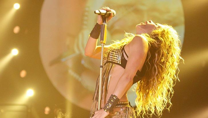 Por culpa de un virus, Shakira suspendió su segundo concierto en Los Ángeles