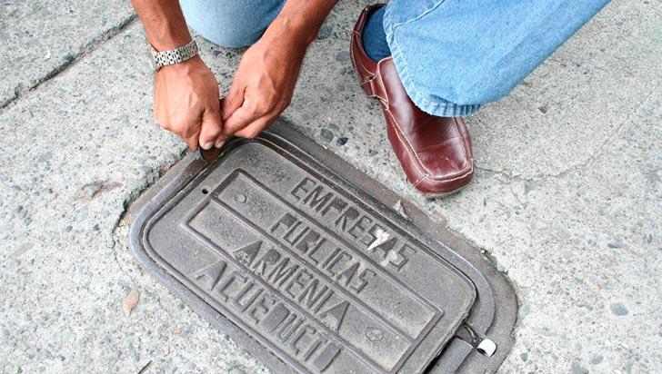 En lo que va corrido del año, 398 contadores han sido hurtados en Armenia
