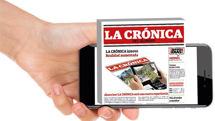 LA CRÓNICA presenta su propuesta de realidad aumentada en Expofuturo