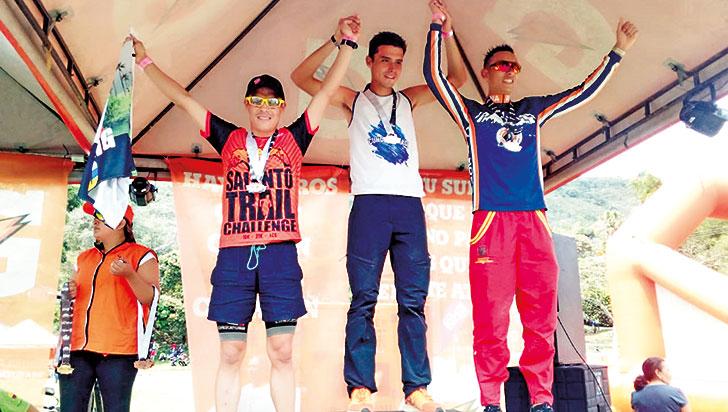 Felipe Delgado fue tercero en el Nacional Trail Running 42K
