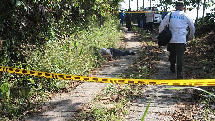 En zona rural de Circasia fue hallado un cadáver