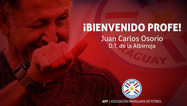 Juan Carlos Osorio es el nuevo técnico de la selección paraguaya