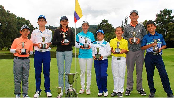 Susana Botero, la mejor en el nacional infantil de golf