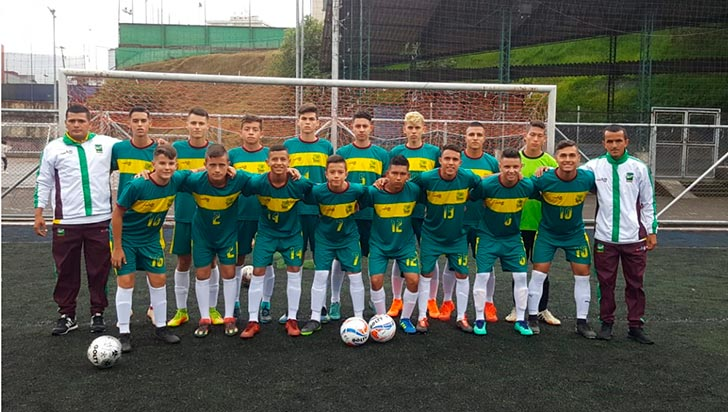 En fútbol masculino juvenil, Quindío avanzó a nacional intercolegiado