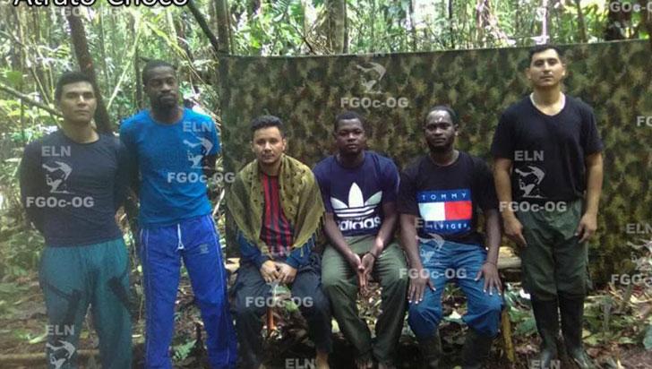 El Eln dejará en libertad a nueve secuestrados en Colombia