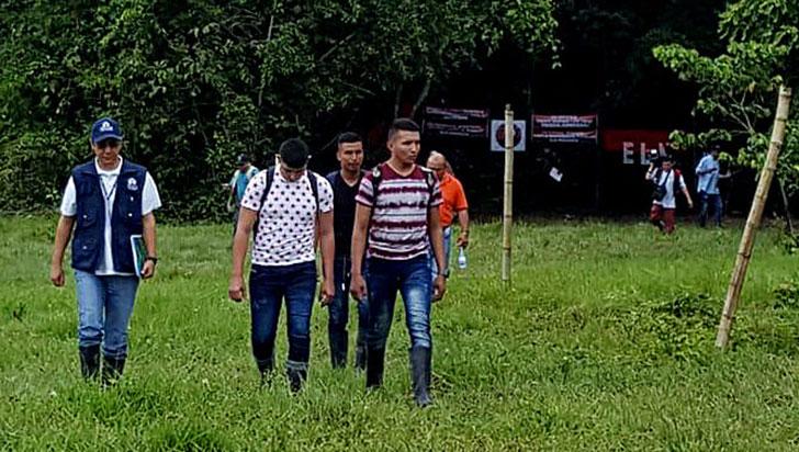 Eln liberó a tres de los militares que tenía secuestrados