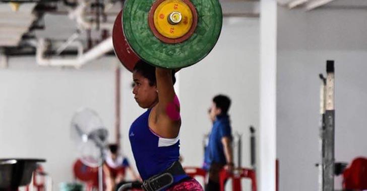Julieth Jiménez intervendrá en panamericano de halterofilia