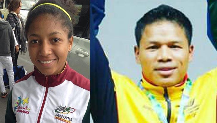 Por logros, Vanessa Quiñones y Yony Andica ahora son apoyados por Coldeportes