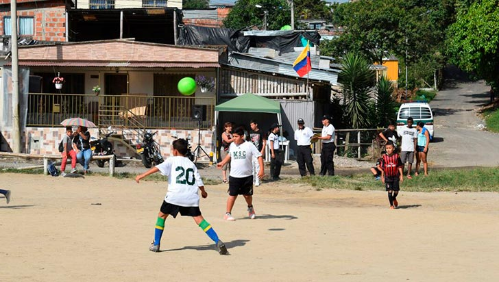 La cuarta fecha de Hinchas de Paz, este sábado en Villa del Café