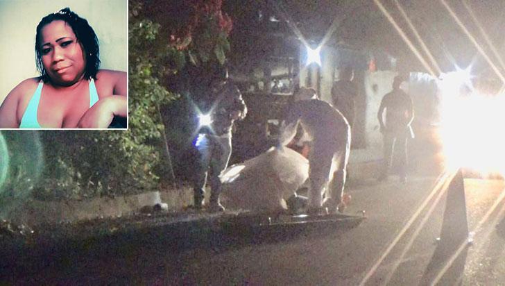 Mujer fue asesinada con arma de fuego en vía de Caicedonia
