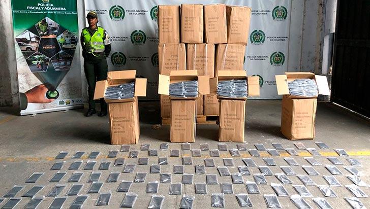 Incautada carga de mercancía china de contrabando