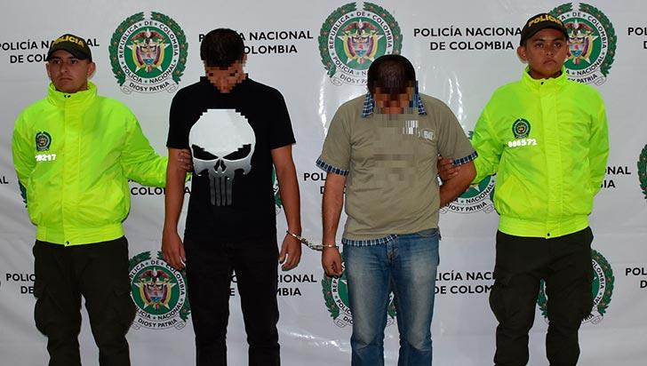 Dos capturados por hurto a través de medios informáticos y violación de datos