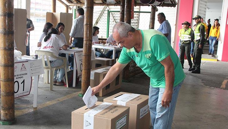 Caficultores cumplieron la cita a las elecciones cafeteras en el Quindío