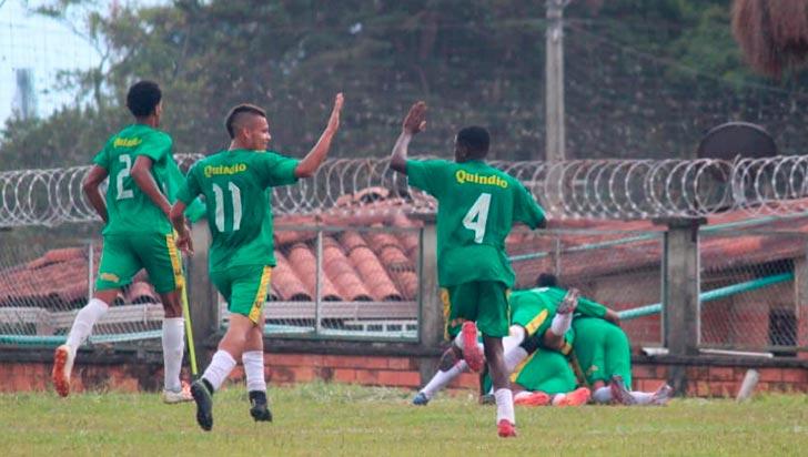 Quindío sub-21 va por la victoria para avanzar en nacional de fútbol